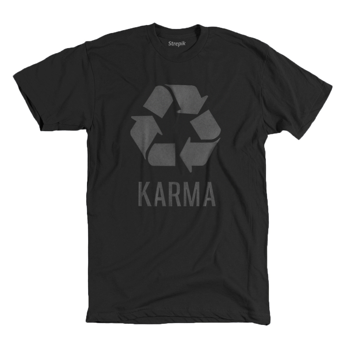 Strepik's Karma Tee$24 - Ships internationally