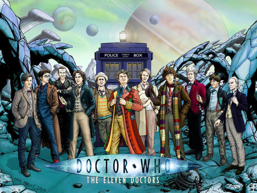 The Eleven Doctors By PaulHanley I am pretty sure I posted this before, but WELL worth reposting again.