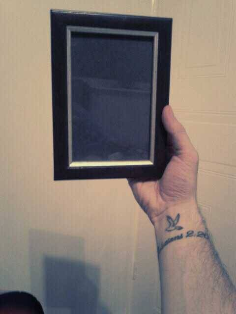"This is a lovely little photo frame I own, only it is lacking an equally lovely picture to occupy it.  ""How tragic! What can I do to help?!"" I hear you cry.  Well, I am glad you asked. I hope to put together a collage of you lovely Tumblr people; something I can keep and cherish - think of it as a demonstration of how our friendships transcend the physical distances.  So here's what I would be grateful of; as many of you as are willing, ask for my e-mail address and then send me your choice of picture of you (preferably with your face visible!), your name and where you're from (Town/City & Country).  I will then collate them into a cosy photo of wonder and warmth that I can keep! Even if I only get 3 of you reply, I shall proclaim it a resounding success.  I eventually hope to make one of larger proportions, but consider this a test-run. I would genuinely love for this to happen.  :)"