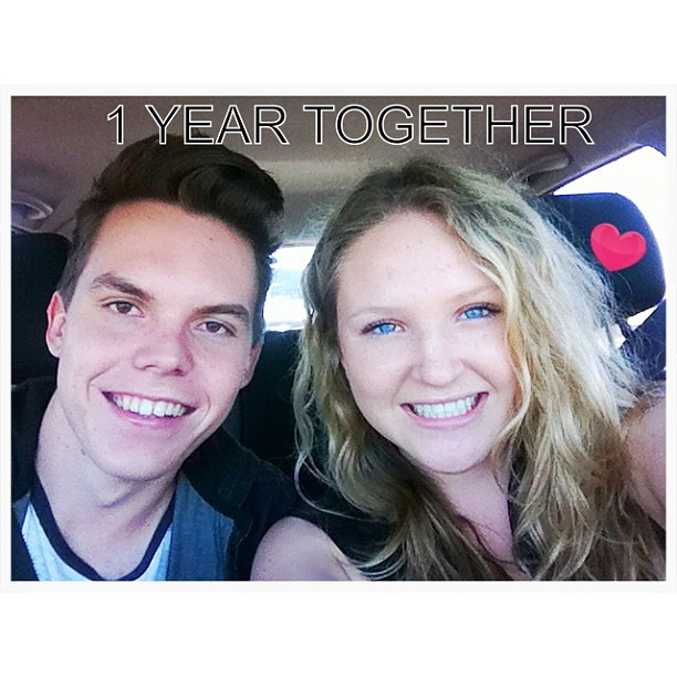 Happy 1 year!!! @jaydenwalter   I love you so much! <3 xoxoxoox #soinlove #1year #21stapril2013