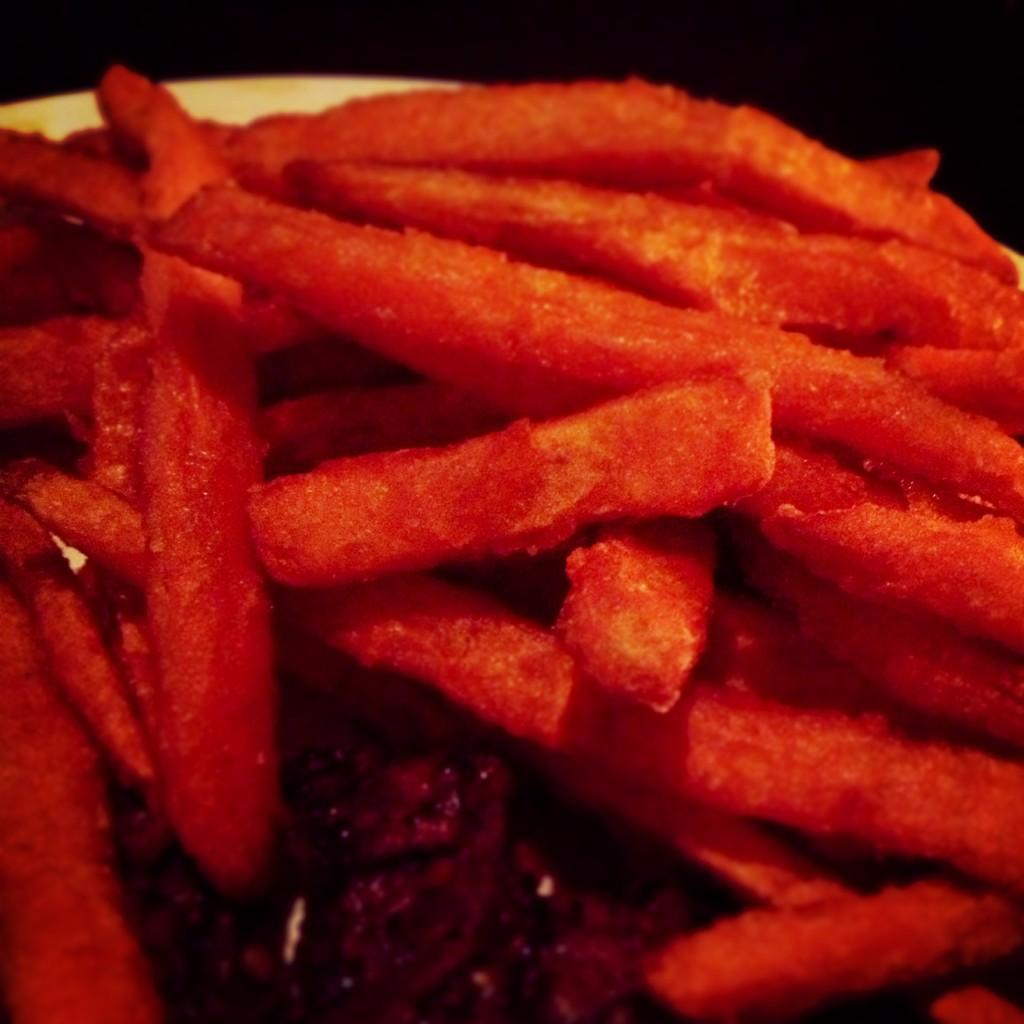 From Gastroposter Jordan Mills:  I love sweet potato fries