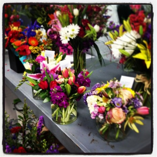 Sending out some gorgeous Easter arrangements today! Do you need a centerpiece? Give us a call!
