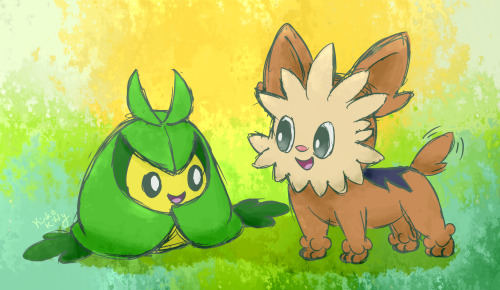 These two from PMD: Gates to Infinity are just adorable friends.