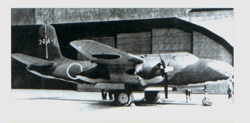 The Douglas DB-7 Boston/A-20 Havoc: Image No.4…a captured ex-USAAF Douglas Havoc under evaluation by the Japanese IJAAF