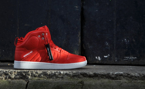 "LIL WAYNE X SUPRA S1W ""CARTER IV"" Lil Wayne had teased previously about a new sneaker coming out with his name properly attached, and his new collaboration with Supra provides just that. The Lil Wayne X Supra S1W ""Carter IV"" comes in primarily red suede with white accents on the tongue and throughout the sole. You can get the Stevie Williams shoes for Weezy now at Sole Heaven with free shipping to the US by FedEx, for around $100."