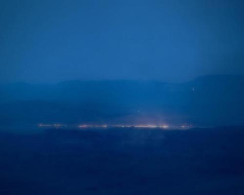 blushisthecourt:  Trevor Paglen. Detachment 3, Air Force Flight Test Center, Groom Lake, NV; Distance approx.26 miles, 2008.