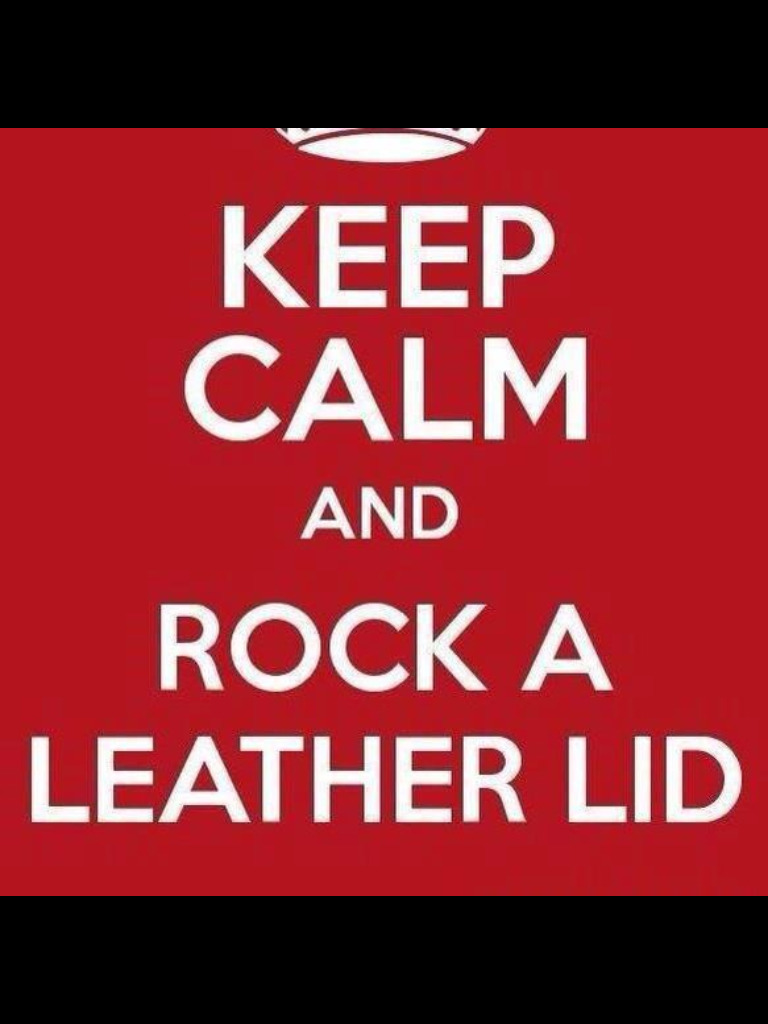 jumpingjokerswild:  Leather forever!