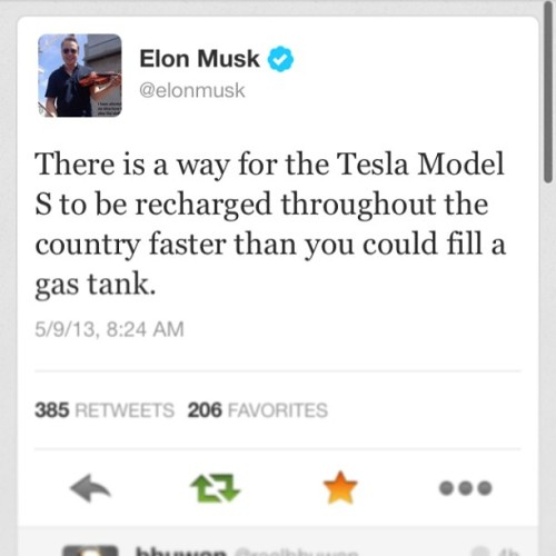 Just y'all wait. #tesla #teslamotors #motors #surprise #charge #supercharge #models #car #auto #instacar #future (at Tesla Motors Los Angeles Office)