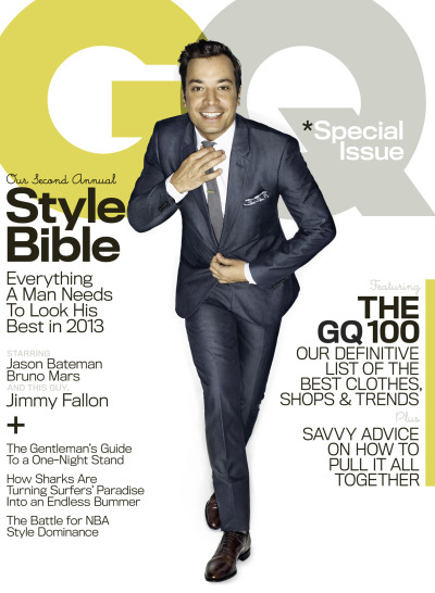 Jimmy Fallon for GQ [April 2013]. Read more, here…