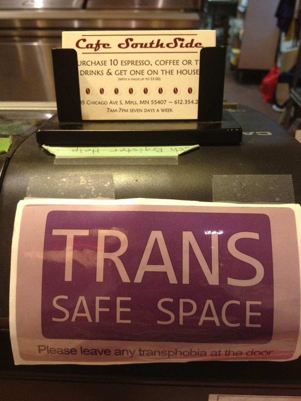 Love Cafe Southside! ** PLEASE LEAVE TRANSPHOBIA AT THE DOOR**