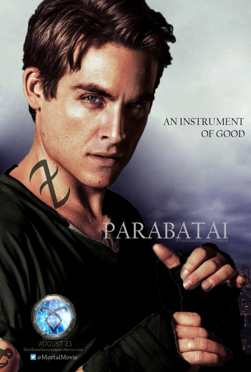 Alec Lightwood's 'City of Bones' Fan Made Poster Inspired by x