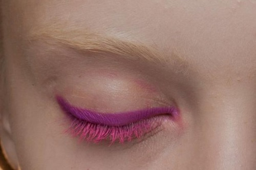 make-up-is-an-art:  Donna Karan S'13