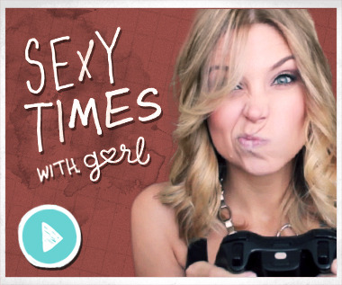 One girl feels like her gamer BF is ignoring her. Check out Sara's advice for her in the latest Sexy Times With Gurl!