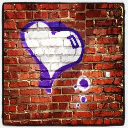 skynoir:  Graffiti Love #RVA #publicArt