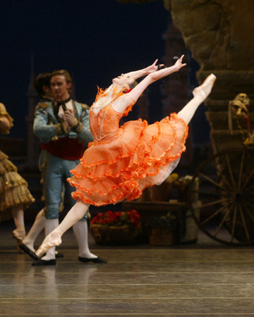 Nina Ananiashvili in Don Quixote.Photo: Rosalie O'Connor.