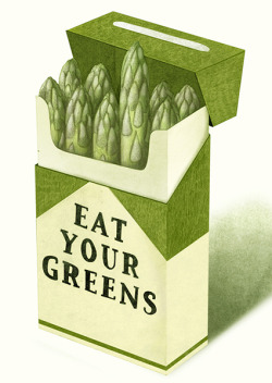 visualgraphic:  Eat Your Greens