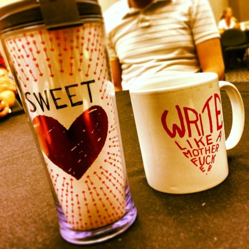 Hearts and Mugs. There's the venn diagram. #heart #writing