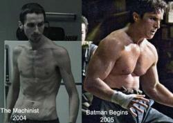 Christian Bale. Method fucking actor.