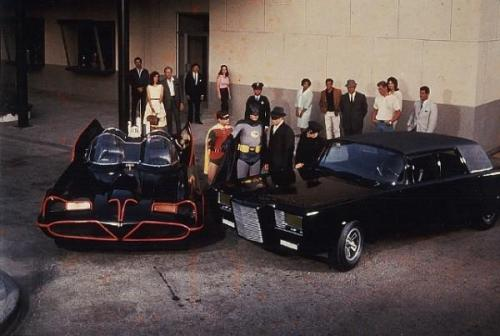 The Batmobile meets Black Beauty (1966)