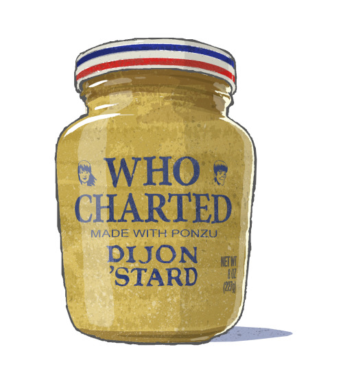 earwolf:  Check out this awesome Who Charted 'stard art, courtesy of chartist Mark Crilley!  How awesome is that?!