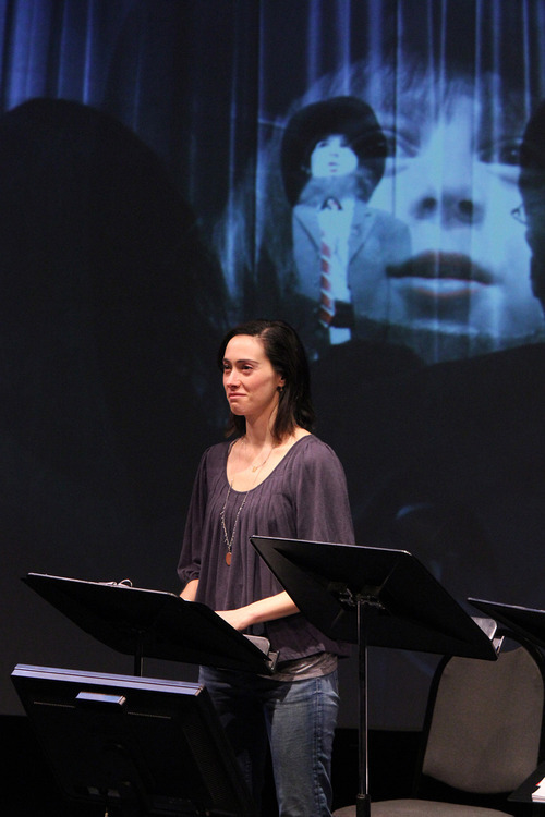 Meghan Wolf in the 2012 reading of Ed, Downloaded at the Colorado New Play Summit