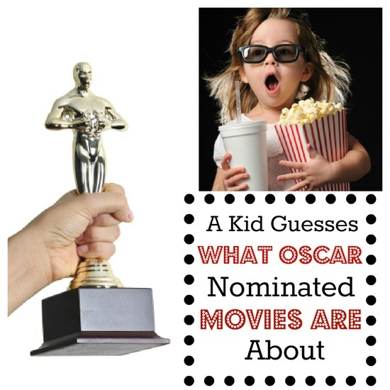 The Mini Film Critic: A First-grader Judges Oscar-nominated Movies by Their Poster.