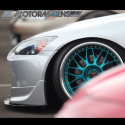 What do you think of the wheel color on this #Honda #S2000? #S2K #hellaflush #slammed #speedandstance #stance #workwheels