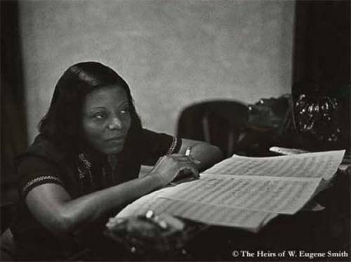 Mary Lou Williams, jazz pianist, composer, and arranger.