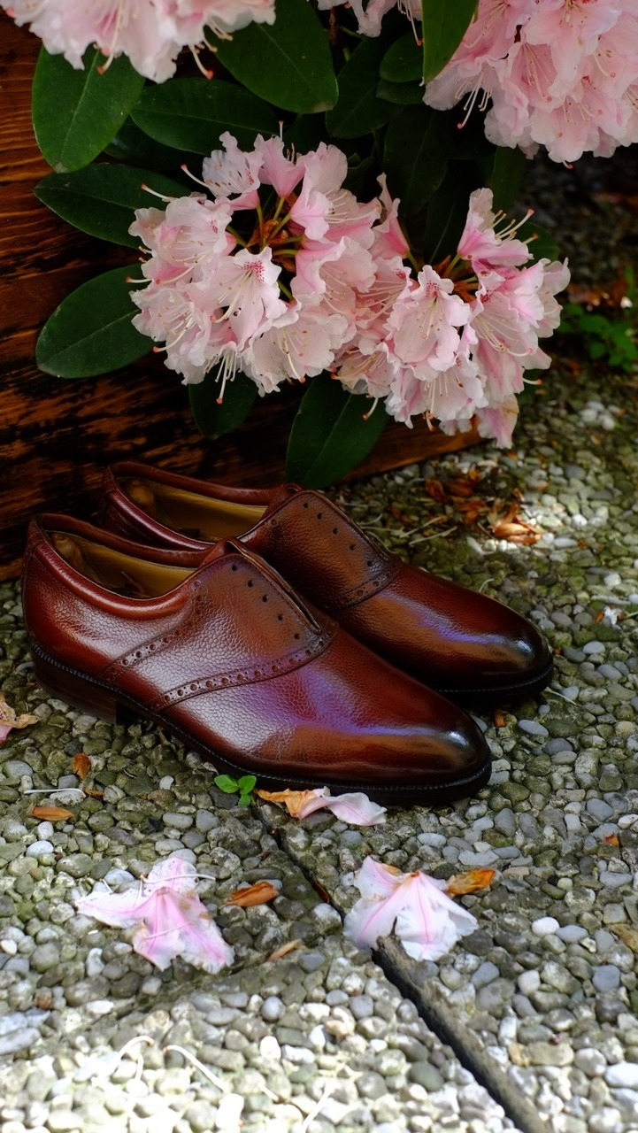 "dandyshoecare:  ""Marcello"" The new Patina by Dandy Shoe Care."
