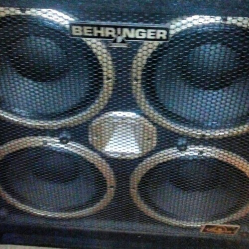 #beast #bass #amp #silverage #band #behringer #heavy #deep @silverage_band #new #equipment #savage #music #art