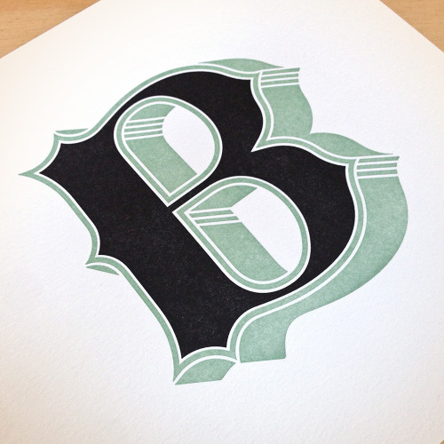 fancy letterpress prints and typefaces that I've designed and sell with the help of my lovely Studio Momager (hi, Mom!)