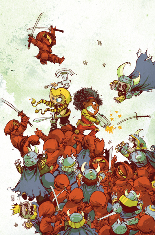 skottieyoung:  Fearless Defenders