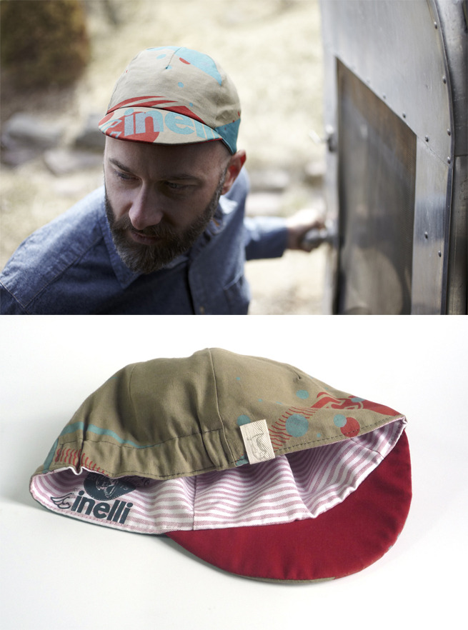 steak:  (via Fifo Cycle for Cinelli: 2013 Bespoke Cycling Cap - PROLLY IS NOT PROBABLY)