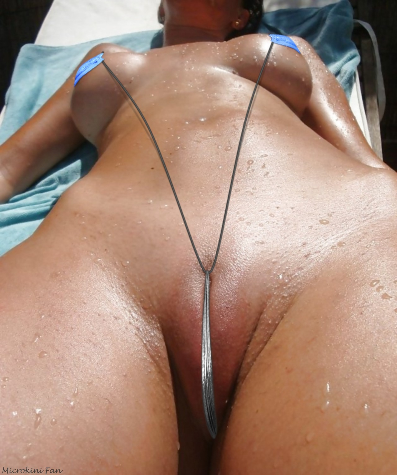 Pity, G string nude milf