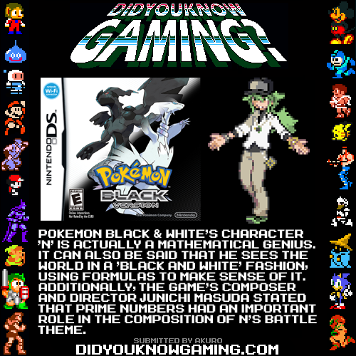 didyouknowgaming:  Pokemon. http://www.gamefreak.co.jp/blog/dir_english/?p=467