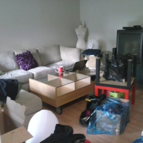 Living room moving chaos. #move #moving #livingroom #myhouse