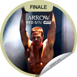 I just unlocked the Arrow: Sacrifice sticker on GetGlue                      10231 others have also unlocked the Arrow: Sacrifice sticker on GetGlue.com                  Will Oliver be enough to save The Glades? Thanks for watching the season finale of Arrow! You've just unlocked the 'Sacrifice' sticker. Share this one proudly. It's from our friends at The CW.