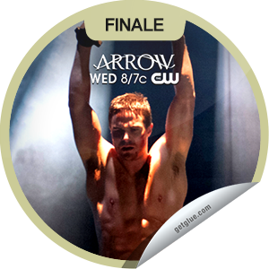 I just unlocked the Arrow: Sacrifice sticker on GetGlue                      12790 others have also unlocked the Arrow: Sacrifice sticker on GetGlue.com                  Will Oliver be enough to save The Glades? Thanks for watching the season finale of Arrow! You've just unlocked the 'Sacrifice' sticker. Share this one proudly. It's from our friends at The CW.