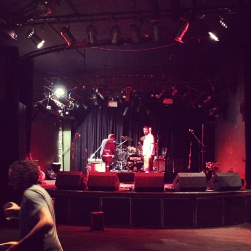 Stage is set at The Northern.  Pretty rad venue.  Kicking off in a couple hours.  Yew! @transvaalds @aaabackstage #tourlife #dayinthelife  (at The Great Northern Hotel)