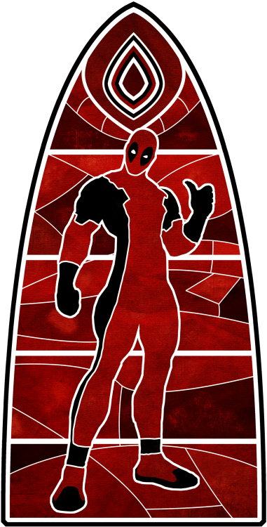 The Church of Deadpool Created by Baz Mehdi