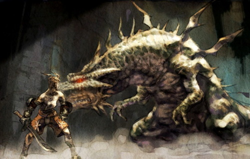 gameraddictions:  concept art Vagrant Story