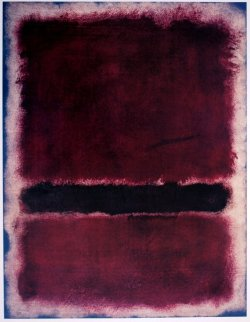 Mark Rothko, Untitled, 1963   © Kate Rothko Prizel & Christopher Rothko / Artists Rights Society       The Daily Rothko makes me realize how different each of his paintings is from the others