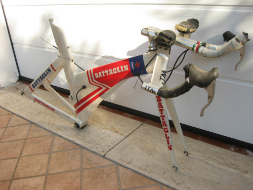 overtech:  Battaglin Time Trial Vintage Italian Chrono Bike Campagnolo Record | eBay