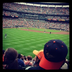 O's Game yesterday #Orioles #brosBday #sunday #funday #Baltimore