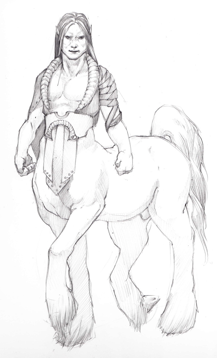 Another centaur to add to the art collection.
