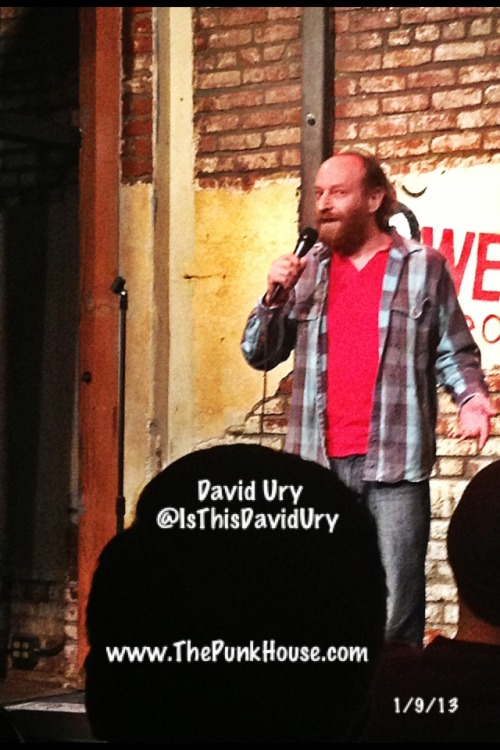 @IsThisDavidUry on at M.I.'s @WestsideComedy Theater
