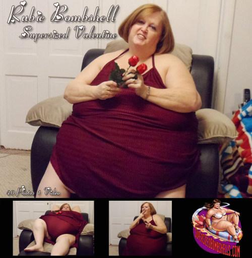 Rubie Bombshell - Supersized Valentine!