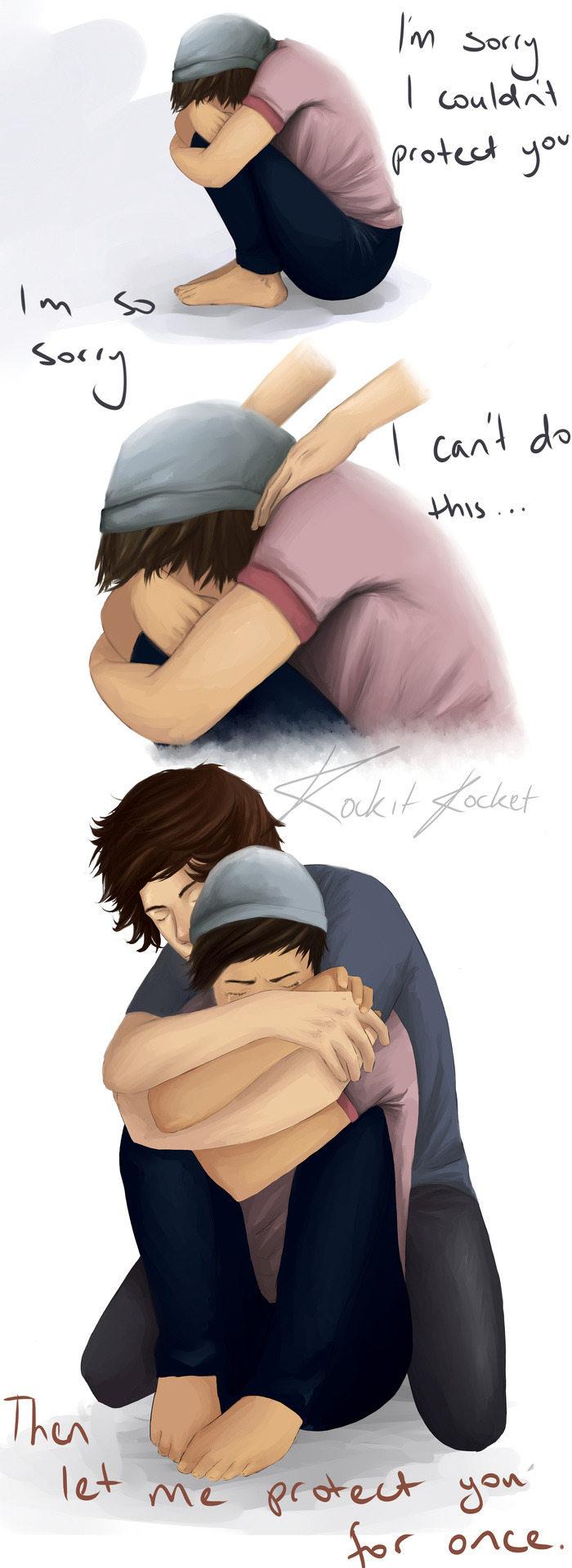 expressyourlarryfeels:  I just love this. (not mine)