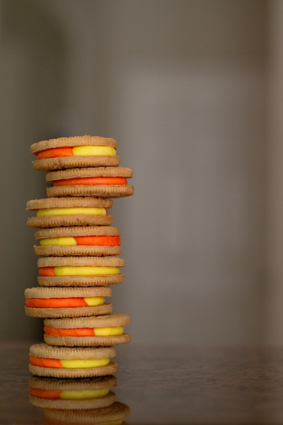 Candy Corn Oreo's! by AlpineZonePhotography on Flickr.