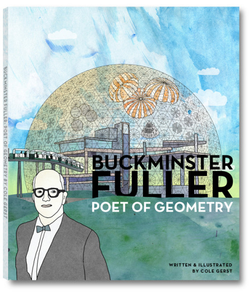 (via SolidSmack.com – 'Buckminster Fuller: Poet of Geometry' is One of the Most Beautiful Books About a Designer, Ever)